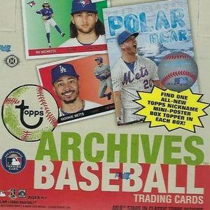 2020 Topps Archives hobby box